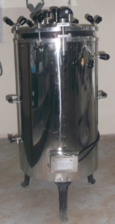 AUTOCLAVE TOP LOADING - (DOUBLE DRUM) [APEX]