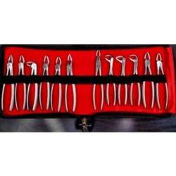 EXTRACTION FORCEP ADULT (Set of 12 Pcs)