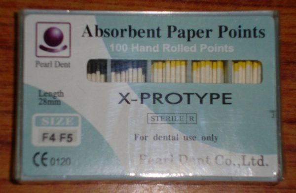 PAPER POINTS PROTAPER [PEARL DENT]